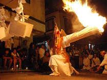 猿田舞 村の夜祭♪8/13~15日はお祭り週間となります。9/8・9は、湯澤神社列祭です。