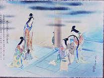 光明皇后様の千人風呂の由来より。風呂に等身大の像を安置しそのお心に近づきべき想いが受け継がれている。