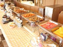 ★朝食:和・洋食バイキング ~日替わりメニューがたくさんございます~