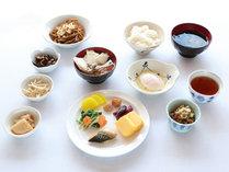 ★朝食盛り付け例「和食風」