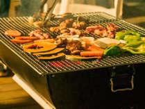 【夕食一例】夜はBBQで種子島の美味しい食材をお楽しみください♪(※写真はイメージです)