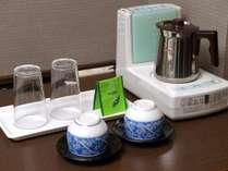 客室設備(湯沸し・お茶セット)イメージ