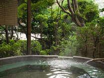■季節ごとに情趣溢れる露天風呂をお楽しみください。