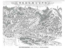 ■明治29年頃の湯河原絵図