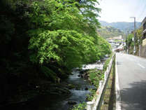 ■奥湯河原はまるで京都の貴船のような雰囲気です