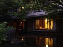 ■夕景も美しい海石榴の客室