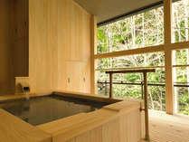 【迎賓館 花富貴】客室露天風呂です。