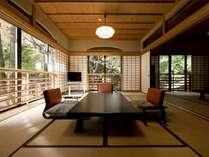 【和室二間 70平米】5名様までご宿泊可能な、広めの和室。