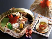 【2018秋の懐石】食前酒・先付・前菜