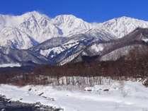 *[白馬の景色・冬]近隣にスキー場が点在し白馬のスキー&スノボ拠点に最適