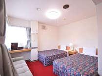 *【ツイン一例】ソファベッドを使用して3名様まで宿泊可能