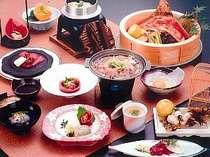 【Wメイン+季節会席】和牛&稚内のズワイ蟹をご賞味下さい