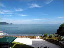 【景色】瀬戸内海の絶景を見渡せる客室からの眺め