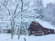 *【冬の外観/一例】繁忙期の冬は日本にいながら外国っぽい雰囲気が楽しめるのも魅力