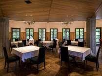 開放的なレストラン