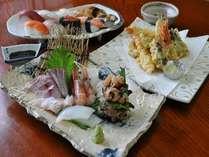 夕食はレストランでお好みの海鮮料理を!プラン