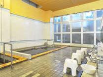 【大浴場】 モール泉の効果でお肌はツルツルに、お風呂上りはポカポカで保温性も抜群です!