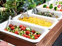 朝食ビュッフェ☆ひと手間かけたサラダコーナー