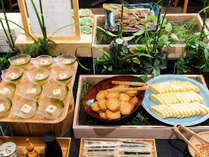 朝食ビュッフェ☆京のおばんざい