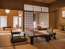 華の棟 汐533号室 特別客室 海側和洋室 15畳+6畳+洋間(ベッドルーム)