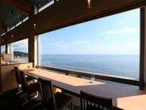 【ダイニング海】富山湾が一望できるダイニングで。。。