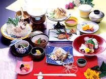 *【冬季】カニor寒ブリのチョイスプラン!旬食材でボリュームも◎期間限定販売中♪(お食事一例)