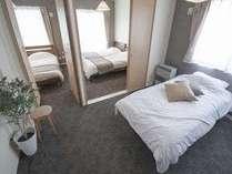 401寝室シングルベッド/ソファベッド
