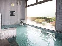 ◇【人口温泉男女別大浴場】夕方15時~1時・朝6時~9時ご利用できます。