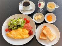 【朝食】洋朝食で気持ちいい朝を応援!