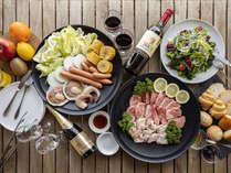 【BBQリニューアル!】島野菜と肉のプロ厳選のお肉でお楽しみください