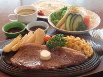 ☆180gサーロイン☆ライス、スープ、サラダ付
