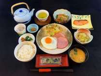 和朝食/ボリュームたっぷり、ホッと安心できる和食です