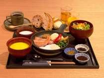 早割プラン28 《 朝食付》 ~加賀の厳選素材を使用したご朝食~