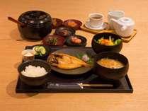 【朝食(数量限定)】和食一例 金沢の風土で育った加賀野菜など、ここでしか味わえない朝食を。