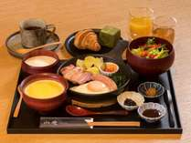 【朝食(数量限定)】洋食一例
