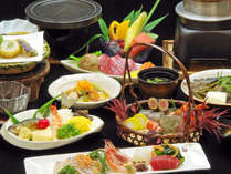 【グレードアップ2食付】グルメな方におすすめ~贅沢プラン♪旬の味覚を厳選!