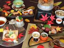 【じゃらん限定】秋のおすすめ選べるディナー~夕朝食付き