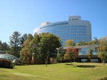 秋の新富良野プリンスホテル