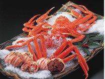 北陸の旬の味覚!【蟹(かに)料理】(イメージ)