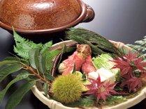【お料理】松茸を使った鍋物(イメージ)