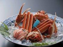 【お料理】橋立港水揚げの青タグ付きブランドずわい蟹(イメージ)