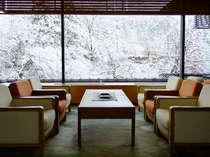 【ロビー】 雪景色