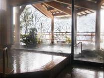 雪見展望露天風呂-冬