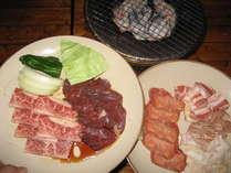 美味しい焼肉を食べよう♪写真は1人前です。*仕入れ状況で内容が変わる場合もございます。