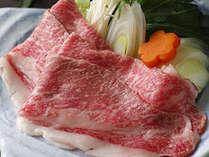 北海道産黒毛和牛のすき焼きは、とろける味わい