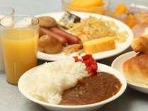 ◆朝食~朝カレーも人気!セットメニューの場合もございます。