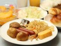 ◆朝食バイキング盛り付け例~セットメニューの場合もございます