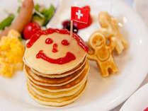 朝食パンケーキ:楽しみ方いろいろ(^^♪(^^♪