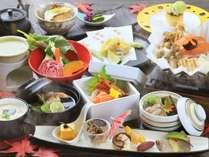 ◆贅沢に秋を味わう~特選会席~ 一例