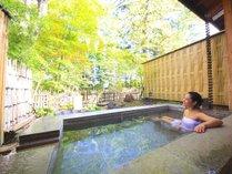 ◆4種類の貸切温泉露天風呂